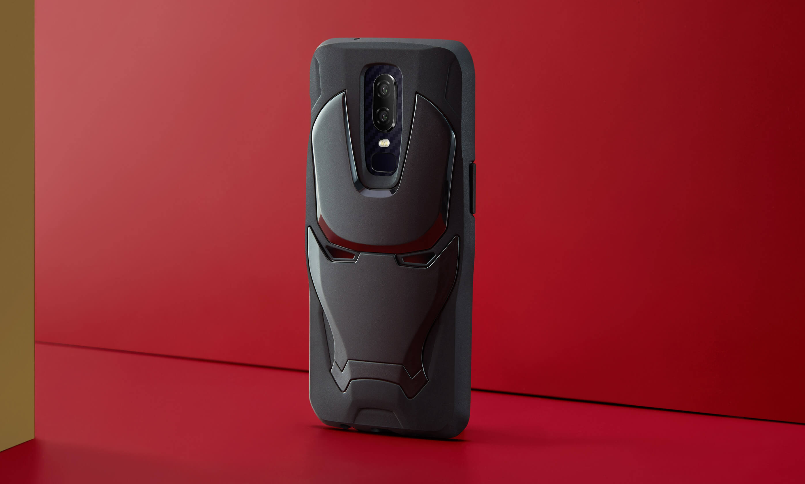 detailed look 2e3d5 8b66d OnePlus 6 x Marvel Avengers Iron Man Case - OnePlus (India)
